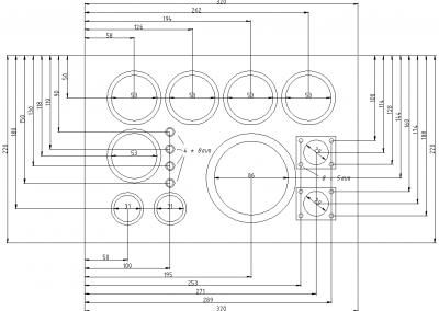 Vernieuwing instrumentenpaneel - tekening